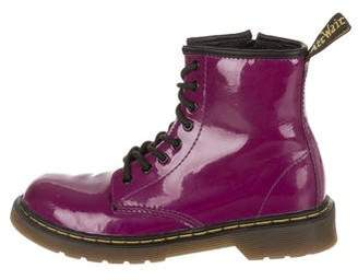 Dr. Martens Kids Girls' Lace-Up Ankle Boots