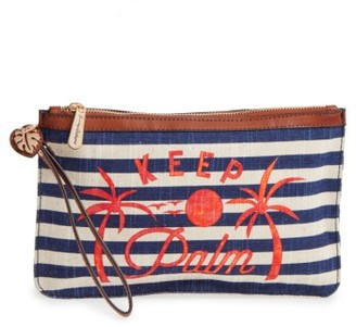 Women's Tommy Bahama Boca Chica Beach Wristlet - Blue $48 thestylecure.com