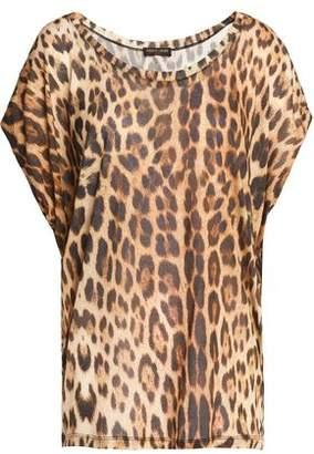 Roberto Cavalli Gym Woman Metallic Printed Modal-jersey T-shirt Black Size S Roberto Cavalli Free Shipping Purchase Huge Surprise Cheap Price Amazon Online MNHa2k418d