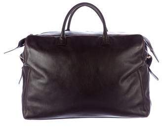 Chanel Leather Weekender