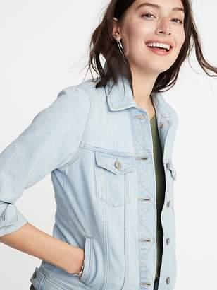 Old Navy Light-Wash Denim Jacket for Women