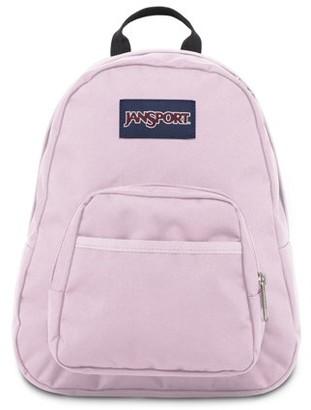 JanSport Half Pint Pink Mist Mini Backpack