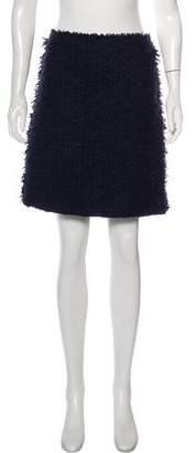 Nina Ricci Virgin Wool-Blend Mini Skirt