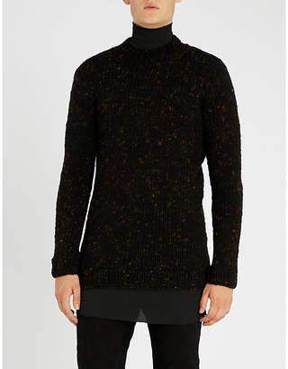 Boris Bidjan Saberi Chunky-knit wool jumper