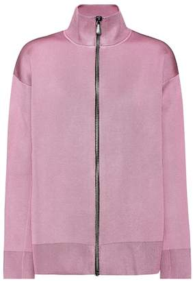 Bottega Veneta Wool and silk-blend jersey jacket