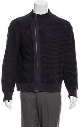 Dries Van Noten Knit Zip-Up Sweater