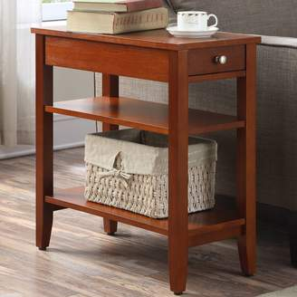 Three Posts Greenspan End Table With Storage