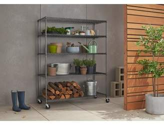 """Project Tidy Esther 77"""" H x 60"""" W Shelving Unit Project Tidy"""