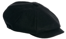 Asos Baker Boy Hat - Black