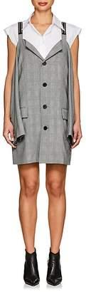 Ambush Women's Cutout-Shoulder Checked Blazer Dress