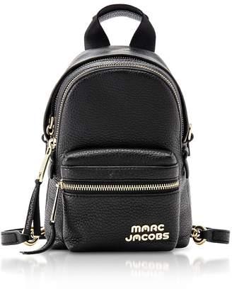 Marc Jacobs Trek Black Leather Micro Backpack
