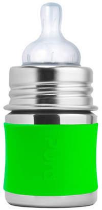 PURA STAINLESS Stainless Steel Green Infant Feeding Bottle
