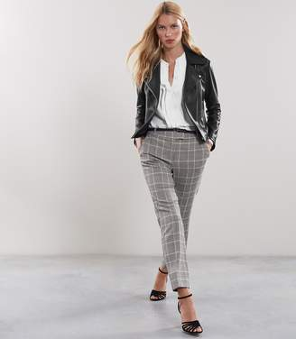 Reiss Milan Checked Tailored Trousers
