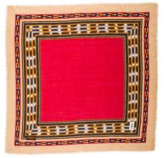Saint Laurent Vintage Woven Scarf