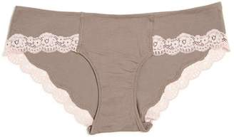 A Pea in the Pod Lace Maternity Hipster Panties (Single) - Solid