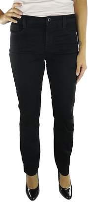 Jones New York Lexington Straight Slimming Jeans, Rinse Wash, 27/4S Short