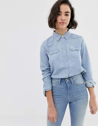 Lee Jeans Western denim shirt