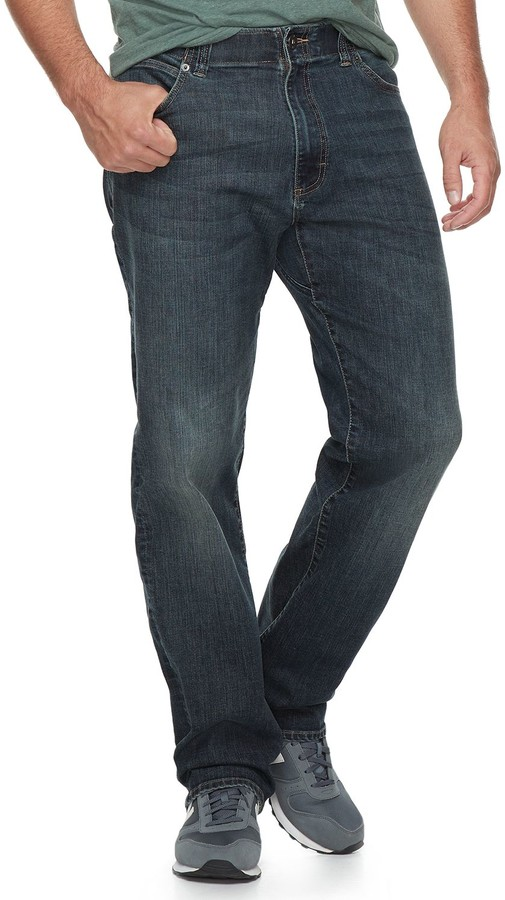 Big & Tall Lee Extreme Motion Relaxed Straight Jeans