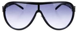 Jimmy Choo Gradient Shield Sunglasses