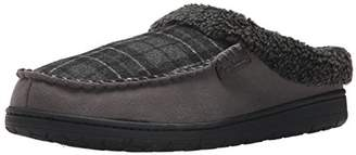Dearfoams Men's Clog with Whipstitch and MF Slipper