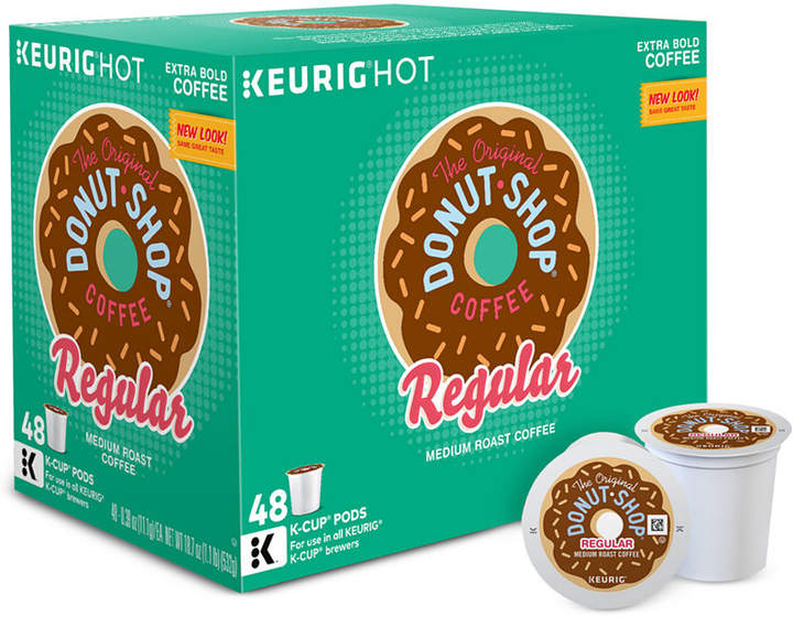 Keurig 15154 The Original Donut Shop 48-Ct. Regular K-Cup Value Pack