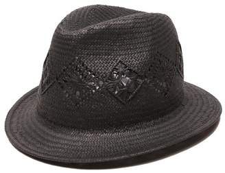 Physician Endorsed Women's Cady Panama Hat with Straw Brim