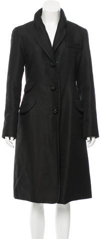 Marc Jacobs Marc Jacobs Wool Fitted Coat