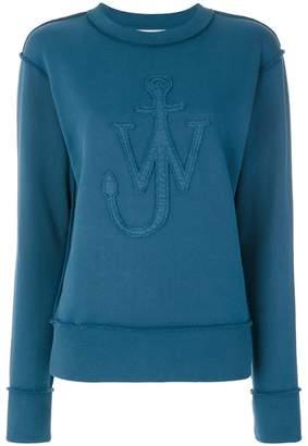 J.W.Anderson applique logo sweatshirt