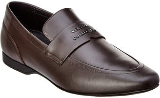 Versace Leather Loafer