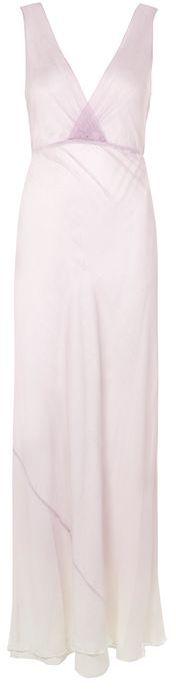 TopshopTopshop **silk ombre crinkle maxi dress