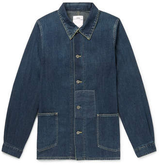 Visvim Distressed Denim Chore Jacket - Mid denim