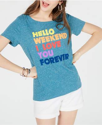 7eecf06ce Hybrid Juniors' Hello Weekend T-Shirt