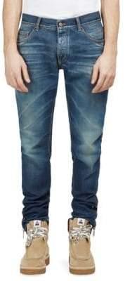 Palm Angels Skinny Vintage Wash Jeans
