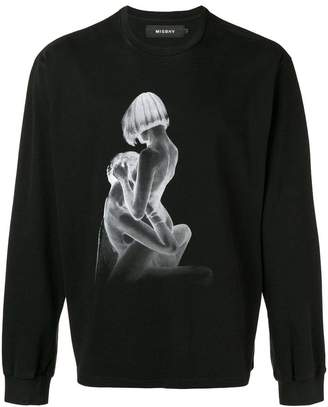 Misbhv photo print sweatshirt