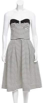 Nicholas Stripe Sleeveless Dress