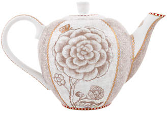 Pip Studio Spring to Life Small Teapot, Cream