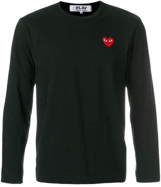 Comme des Garcons heart logo T-shirt