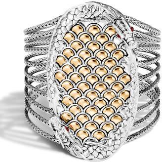 John Hardy Legends Naga Multi-Row 2-Tone Bracelet
