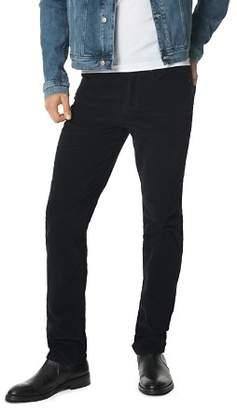 Joe's Jeans Brixton Straight Slim Fit Corduroy Pants in Midnight