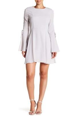 J.o.a. Bell Sleeve Mini Dress