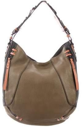 Oryany Textured Leather Shoulder Bag
