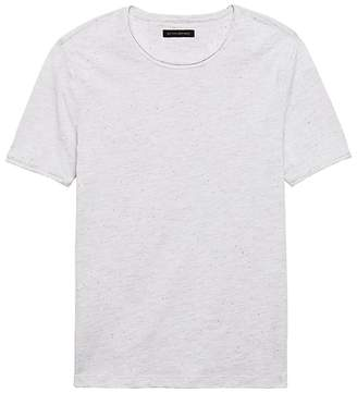 Banana Republic Soft-Wash Raw-Edge Crew-Neck T-Shirt