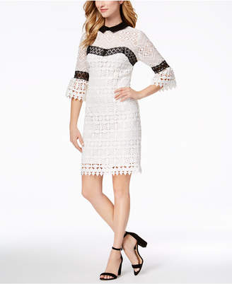 Nanette Lepore Nanette by Crocheted Dress
