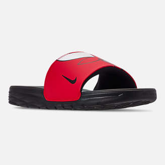 new styles 344c5 73475 at Finish Line · Nike Men s Benassi Solarsoft NBA Slide Sandals