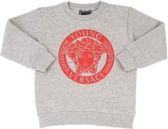 Versace (ヴェルサーチ) - YOUNG VERSACE MEDUSA コットンスウェットシャツ