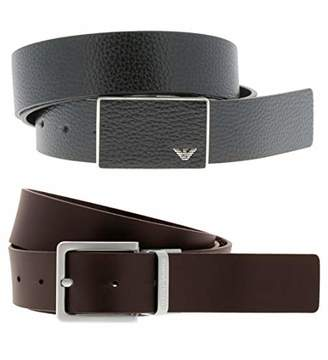 Emporio Armani Men's Designer Belt Gift Box