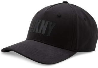 DKNY Men's Flocked Logo Hat