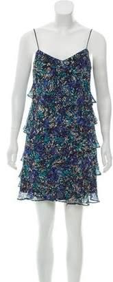 CNC Costume National Ruffled Mini Dress