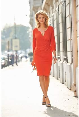 Anne Weyburn Crêpe Dress