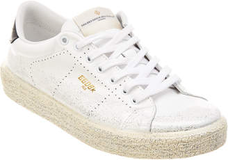 Golden Goose Glitter Leather Tennis Sneaker